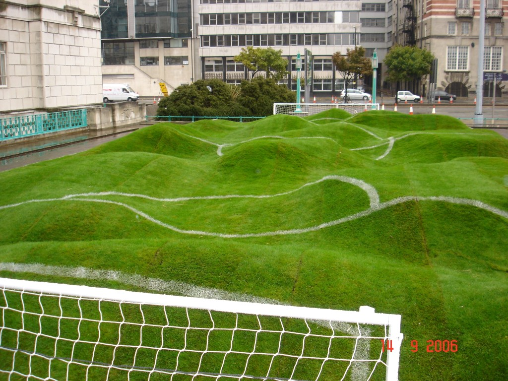 You've tried crazy golf, how about crazy football?