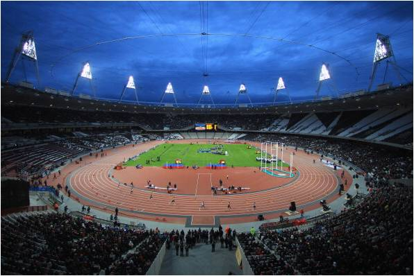 Talbot returfed the olympic stadium within 24 hours following the opening ceremony